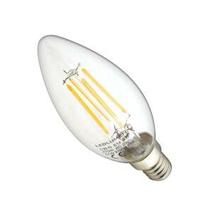 LEDlumen LED žárovka 4W COB Filament E14 470lm CCD Teplá bílá